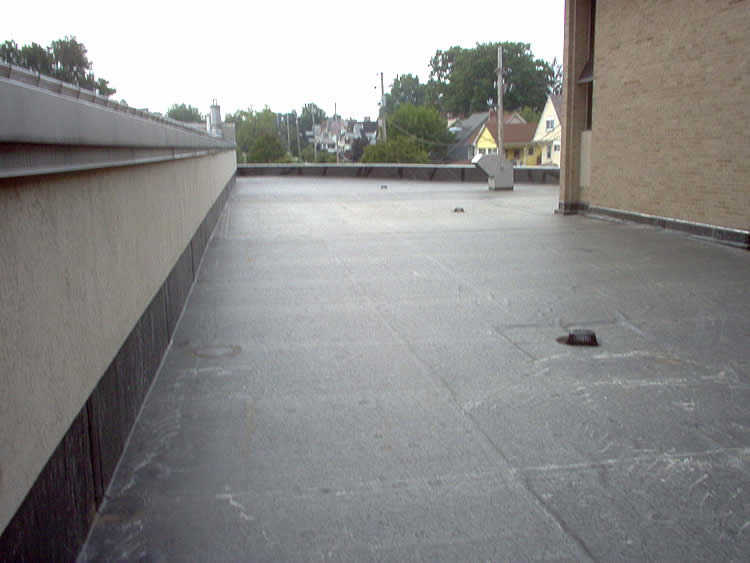 Absolute Roofing Inc Cleveland Oh St John Bosco Church