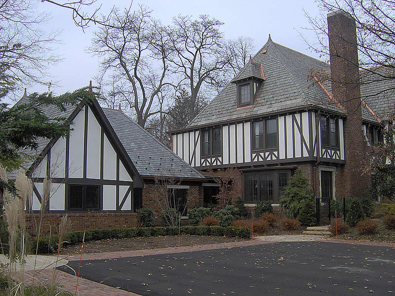 Residential roofing tudor for Tudor siding