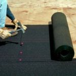 Roll roofing/roofing felt